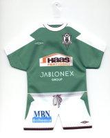 FK Jablonec - Thanks to Mr. Karel Bohunek