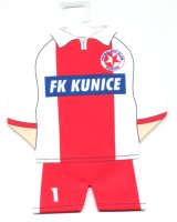 FK Kunice - thanks to Mr. Karel Bohunek