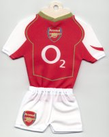 Arsenal - Home - 2004-2005 - Thanks to TOPTeams