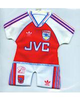 Arsenal - Home - 1990-1991; 1991-1992