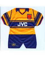 Arsenal - Away - 1997-1998; 1998-1999