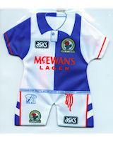 Blackburn Rovers - Home 1992-1993; 1993-1994