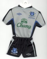 Everton FC - Away - 2005-2006 - Sponsored by TOPTeams