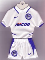 Hertha BSC Berlin - Away 2003-2004 - Thanks to TOPteams