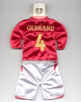 England - #4 - Steven Gerrard - Issued by McDonald's