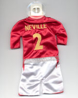 England - #2 - Gary Neville - Issued by McDonald's