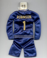 England - #1 - Paul Robinson - Issued by McDonald's (#1 during Euro 2004 was actually David James)