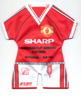 European Cup Winners' Cup final (May 15, 1991 in Rotterdam): Manchester United vs. FC Barcelona (2-1)
