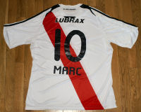 River Plate - Back - 2009 - Thanks to Mr. Horacio Anibal Dergam