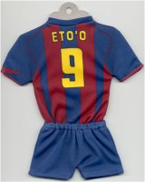 FC Barcelona - Home 2004-2005 - (Made available by TOPteams - Das Original Mini-Kit)